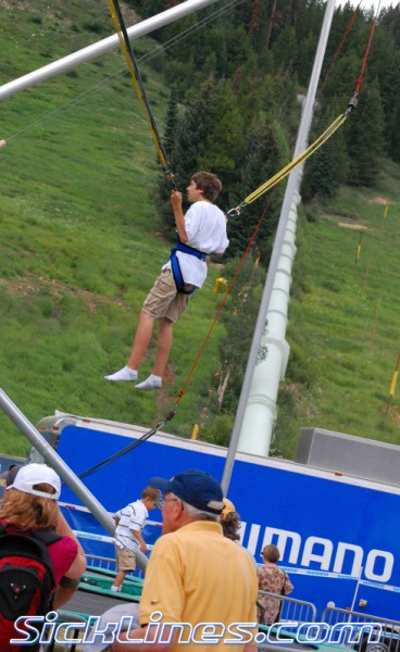 bungee bounce