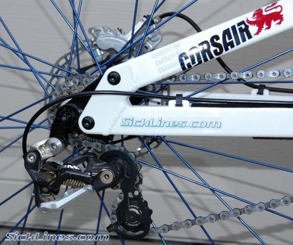 Shimano Saint rear derailleur