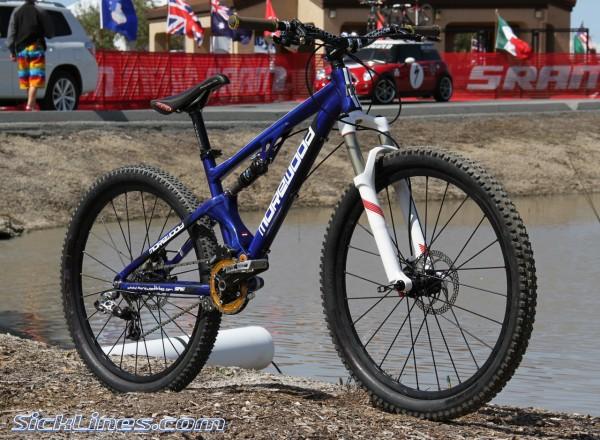 Fabien Cousinie Morewood 4X prototype