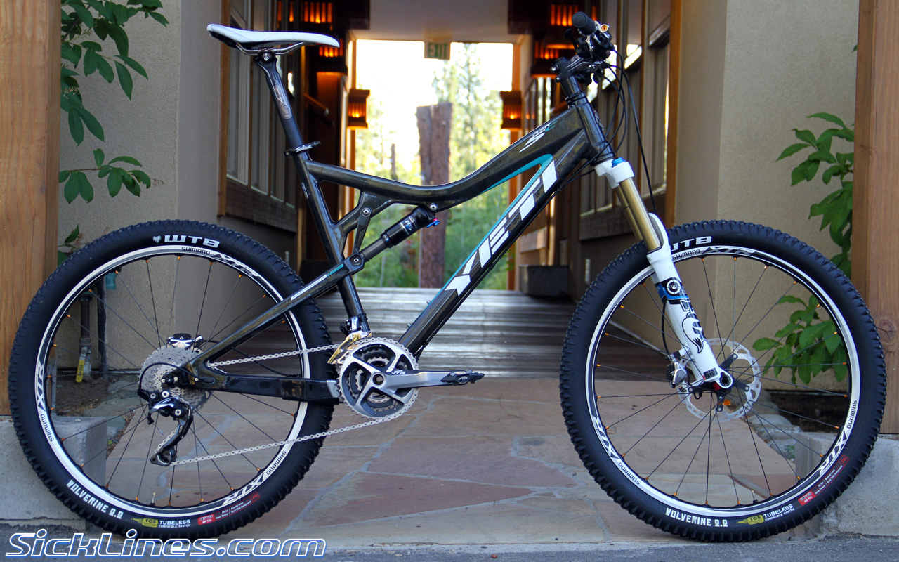 Yeti ASR-5C with Shimano M980 components - Sick Lines Gallery