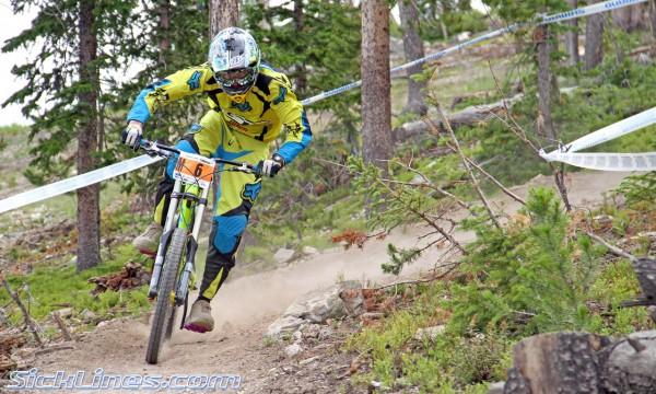 Kevin Aiello 2010 Pro Grt #4 - Winter Park Colorado - Crankworx Downhill