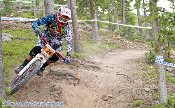 Ryan Condrashoff 2010 Pro Grt #4 - Winter Park Colorado - Crankworx Downhil