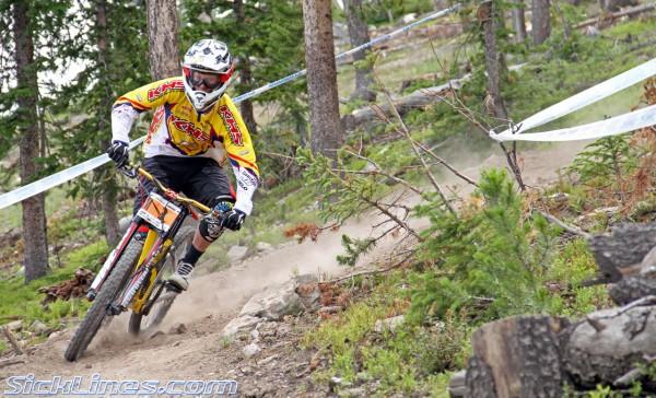 Logan Binggeli 2010 Pro Grt #4 - Winter Park Colorado - Crankworx Downhill