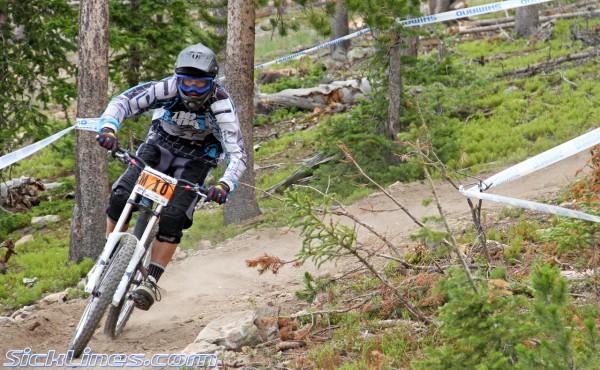 Waylon Smith 2010 Pro Grt #4 - Winter Park Colorado - Crankworx Downhill