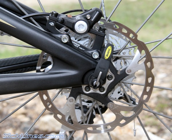 Shimano XT rear brake