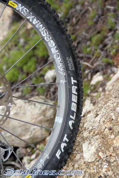 Mavic Crossmax SX wheels