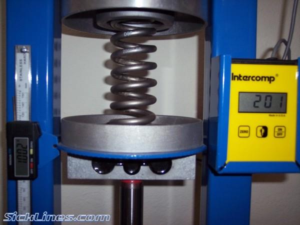 DSP titanium 200lb spring