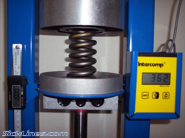 Nuke Proof titanium 350lb spring