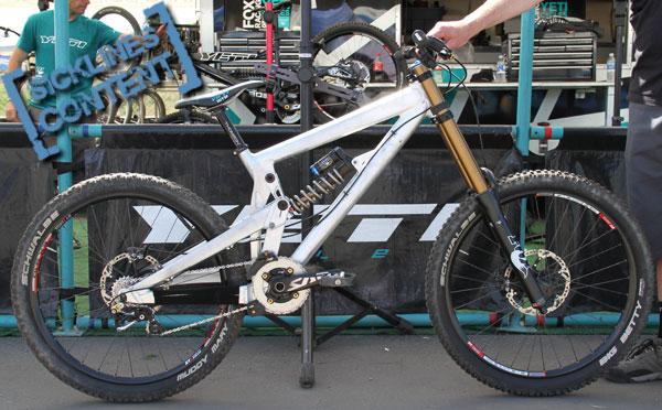 Prototype Yeti World Cup DH Bike