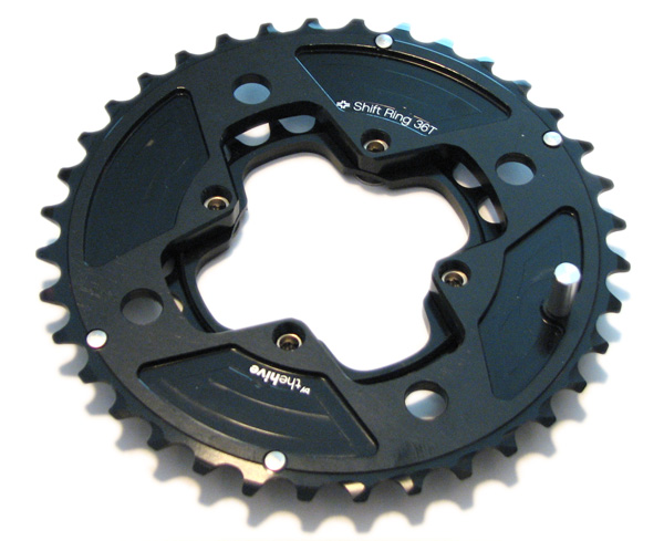 , e.thirteen by the Hive XC Single Speed Crankset, Shiftrings, and Heim 2