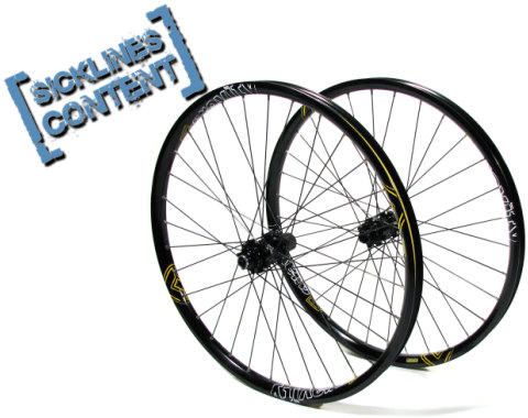 , 2008 FSA Gravity Wheelset