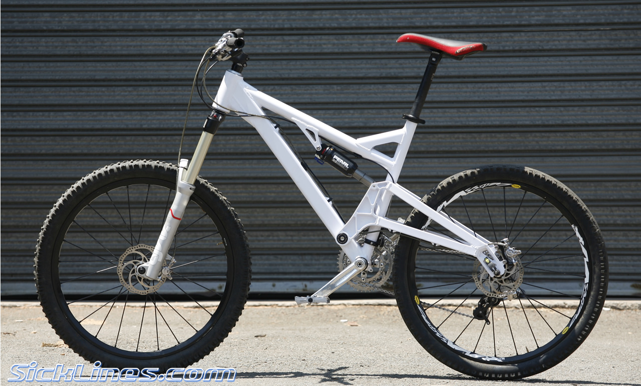 Greg Minaar S Mega Avalanche Bike Sick Lines Mountain Bike