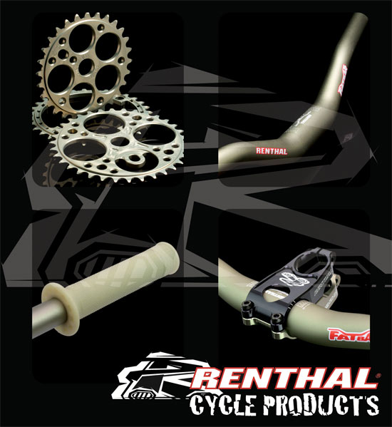 , Renthal launches Cycling Specific Website with webstore