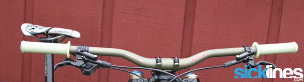 , Review: Renthal – MTB Handlebars Fatbars 30mm – Direct Mount Stem – Push ON Grips – SR4 Chainring