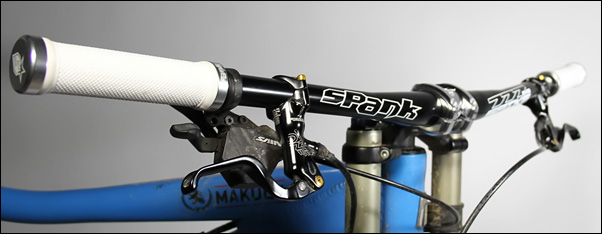 , Spotlight: Spank Spike Director Stem and 777 Evo Handlebar