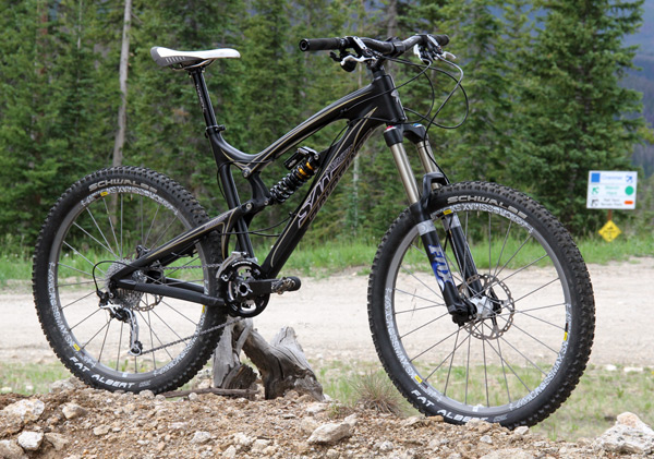 , Project:  Santa Cruz Nomad Carbon