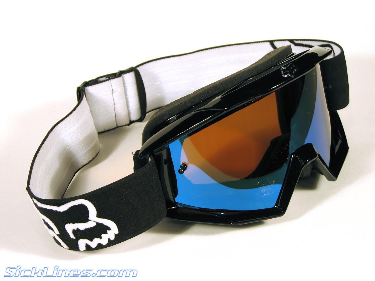 187 Fox Main Goggle Review Sick Lines Mountain Bike