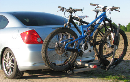 Yakima hookup hitch bike rack