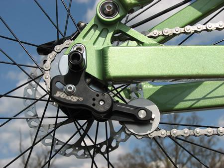 , Yess Pro ETR-Vertical + Full Suspension Single Speed Kit