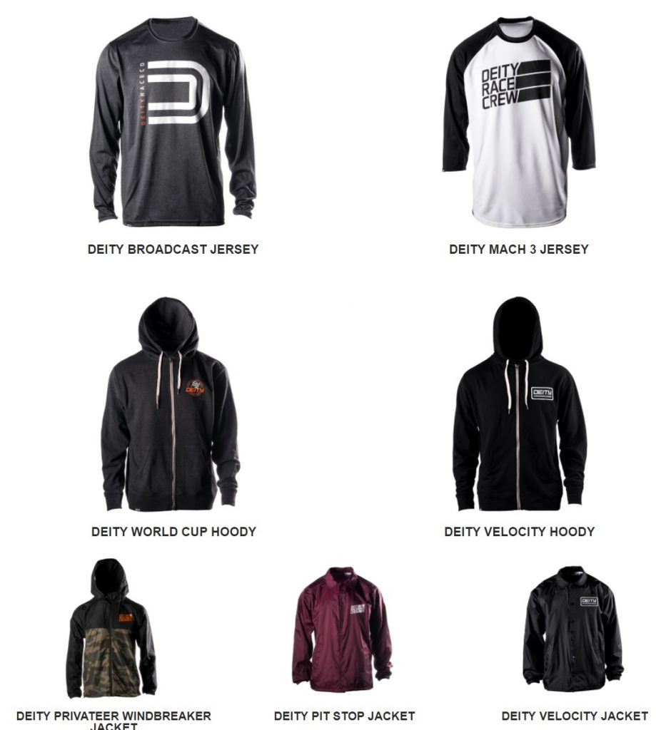 , Deity Introduces New Apparel Products – Jackets, Jerseys, Hoodies, Shirts, Mugs + More