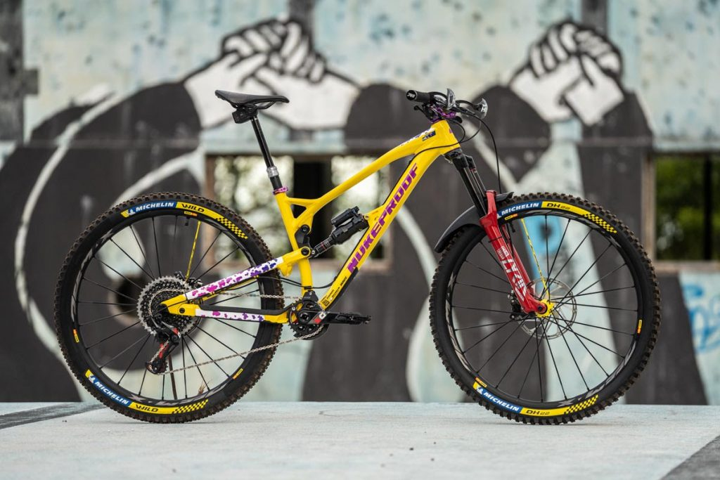 , Sam Hill – Mega 290 – 29er Enduro Nuke Proof Bike Setup