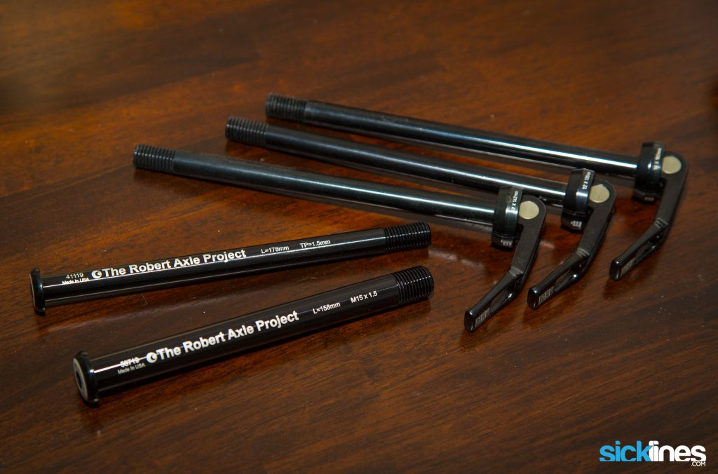 , The Robert Axle Project Lightning Bolt-On : A Replacement Thru Axle For Your Mountain Bike, Road, Gravel, or eBike