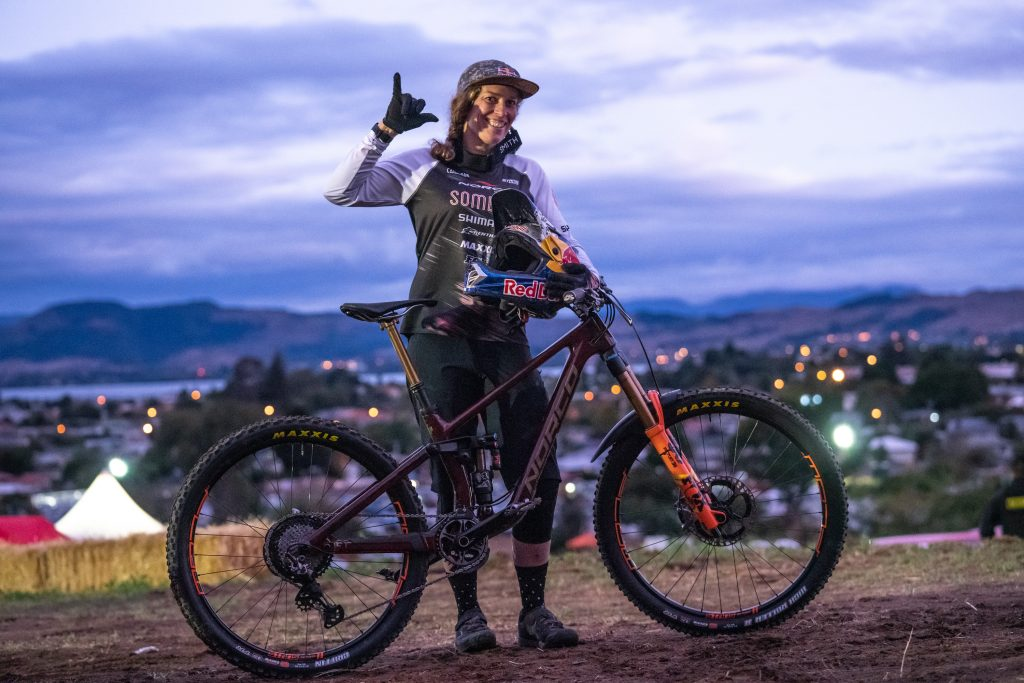 , Jill Kintner / Sam Blenkinsop Crankworx Rotorua – Former King and Queen of Crankworx rise to the top in Rotorua Air DH presented by Bosch