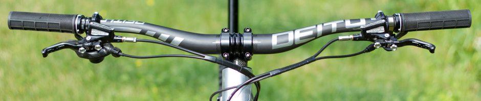 , Review: Deity Speedway bars – Copper Head stem – Knuckleduster grips
